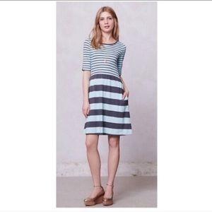 Saturday Sunday mint striped Harper dress M